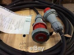 Heavy duty 15m extension lead 63amp 5Pin 415v