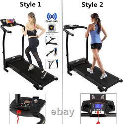 Heavy-duty PRO Treadmill Electric Running Machine Incline Adjustment Folding UK