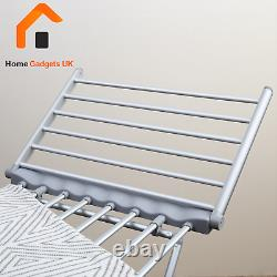 Home Gadgets Electric Airer Heated Clothes Dryer Foldable Laundry Horse Rack