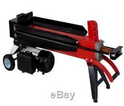 Hydraulic 5 Ton Log Splitter Progen Electric Heavy Duty Wood Timber Cutter