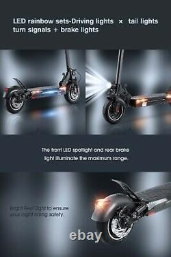 IScooterT4 10-Heavy Duty Electric Scooter-Top Speed 45km/h, Range 45km, 48v, 600w