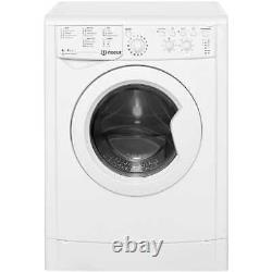 Indesit IWDC6125 Eco Time Free Standing 6Kg B Washer Dryer White New from AO