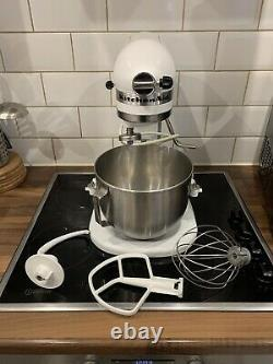 KITCHENAID STAND MIXER Heavy Duty White Model With Accesories 5KPM5 315W