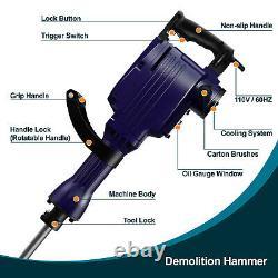 Kinswood Heavy Duty 14A Electric Demolition Jack hammer Concrete Breaker