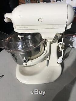 KitchenAid Stand Mixer KSM5 HeavyDuty 325 Watt Beige USA Attachments