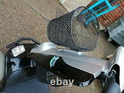 Kymco 2017 foru 8MPH. (New batteries)Mobility Scooter black. Px. Free delivery