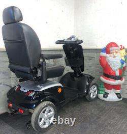 Kymco Maxi Class 3 8mph Electric Mobility Scooter All Terrain Black