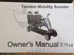 Kymco Tandem 2 Seater Mobility Scooter 8 mph
