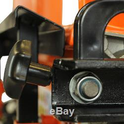 Large Heavy Duty Hydraulic Electric Log Splitter & Bulk Saw Horse Multi Holder