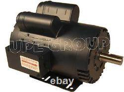 Leeson Heavy duty 5 HP 20.8A electric motor for compressor 3600 145T 7/8 120554