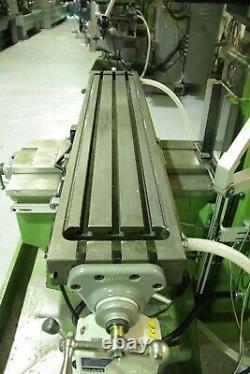 Lilian 5vh Turret Milling Machine Heavy Duty 40 Int Taper £4,950 + Vat