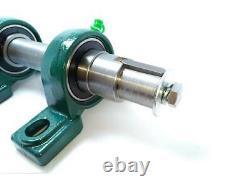 Log Splitter Kit Wood Cutter Screw Electric Motor Cone 80 mm Heavy Duty PTO