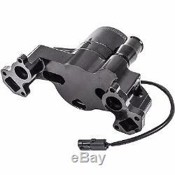 MEZIERE 42GPM ELECTRIC WATER PUMP HEAVY DUTY MOTOR GM LS ENGINE WP119SHD Black