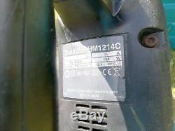 Makita Hm1214c Avt 110v Heavy Duty Concrete Breaker Demolition Tool Sds Avt