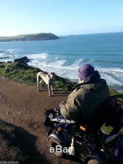 Meyra Optimus 2 RS offroad powerchair wheelchair all terrain snow sand mud