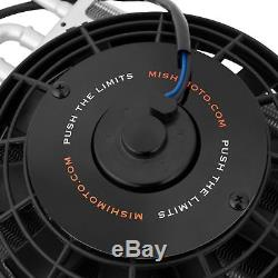 Mishimoto Heavy Duty Car Transmission Cooler/Cooling With 8 Electric Fan