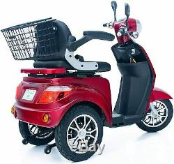 Mobility Scooter 900w 3 wheeled Red Electric Mobility Scooters