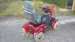 Mobility Scooter Red Shoprider Sprinter XL4 Bargain Good Batteries