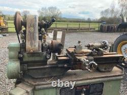 Myford Ml7 Heavy Duty Lathe With Cabinet / Stand & Accessories 240v