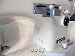 NECCHI LYCIA BUL Free Arm Multi Stitch Semi Industrial Sewing Machine Heavy Duty