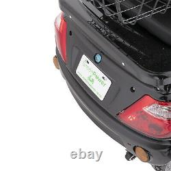 NEW 3 Wheeled ZT500 Glossy Black 800W Electric Mobility Scooter LED Display