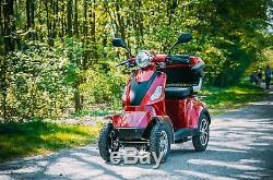 NEW 4 Wheeled Electric Mobility Scooter 60V 1000W Travel e-scooter FREE Delivery