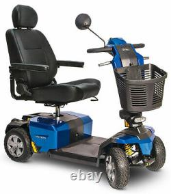 NEW Pride Mobility Victory 10 LX withCTS Suspension 4-Wheel Electric Scooter #S710