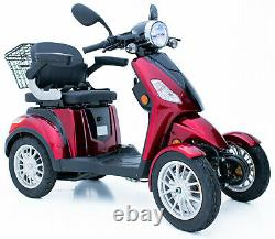 New 4 Wheeled Electric Mobility Scooter 900W MOTOR 60V Battery -FREE UK DELIVERY