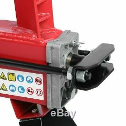 New! 5 TON HEAVY DUTY ELECTRIC LOG SPLITTER HYDRAULIC WOOD CUTTER WITH STAND aO
