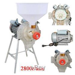 New Electric Mill Feed Flour Corn Wheat Grain Grinder Heavy Duty Powder Machine