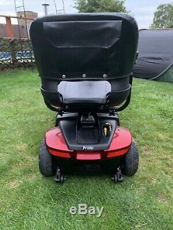 Nice 4mph Pride Colt 9 Mid Size Transportable Mobility Scooter