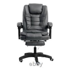 Office Electric Massage Chair Gaming Computer Leather Swivel Recliner with Remote