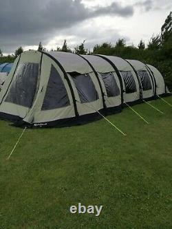 Outwell Inflatable Tent Concorde L with electric pump in great condition