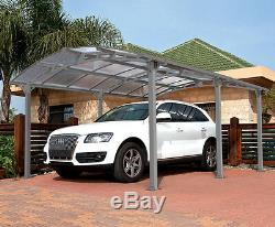 Palram Arcadia 5000 Carport Do-It-Yourself Heavy Duty Carport Kit Car Storage