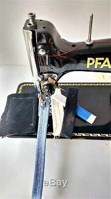 Pfaff 30 Semi Industrial Heavy Duty Sewing Machine Sailmaker New Powerful Motor