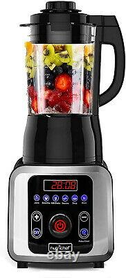 Professional Smoothie Blender Heating 1200W High Speed Commercial Heavy Duty NEW