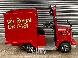 Rascal Pioneer mobility scooter based Postman Pat Van
