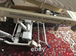 Richmond Ultra Low Electric 3-way Profiling Adjustable Height Hospital Bed