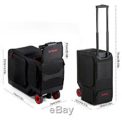 Rideable Electric Suitcase Scooter Motor Wheel 16 km/h Travel Carry Luggage Case
