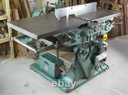 Sagar 610mm (24) Planer/Thicknesser. 3phase, heavy duty, wood working machine