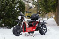 Scooterpac Invader Electric Mobility Scooter 16mph, All Terrain, Off Road