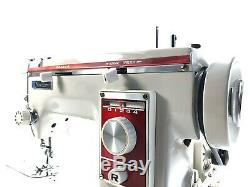 Semi Industrial Zigzag Janome Sewing Machine Dressmaker Metal Heavy Duty