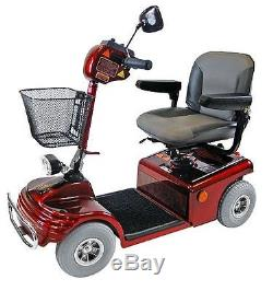 Shoprider Sovereign 4 Mobility Scooter 4mph Travel Aid 4 Wheels 4mph Swivel Seat