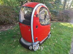 Shoprider Traveso Cabin Mobility Scooter. Enclosed Mobility Scooter. All Weather