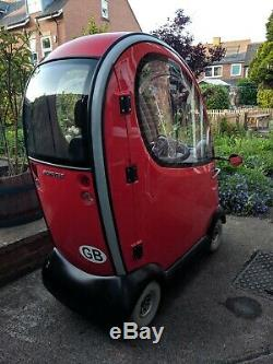 Shoprider Traveso Enclosed Mobility Scooter