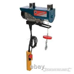 Silverline 442663 Electric 900w 500kg Lifting Engine Hoist Winch Garage Tool