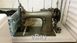 Singer 132k6 Walking Foot Heavy Duty Industrial Sewing Machine/acessories