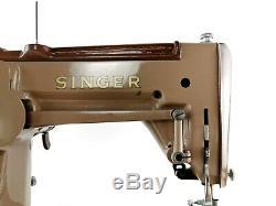 Singer 306K Semi Industrial Heavy Duty Zigzag Sewing Machine + New Motor