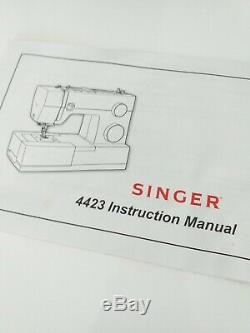 Singer 4423 Heavy Duty Sewing Machine Used Condition