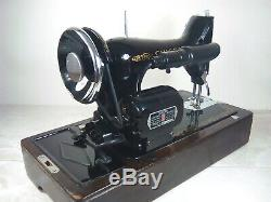 Singer 99k Heavy Duty Electric Sewing Machine- Knee Operated